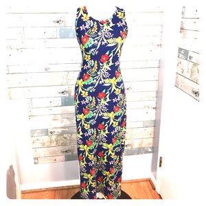 Discreet summer maxi dress leggings fabric small